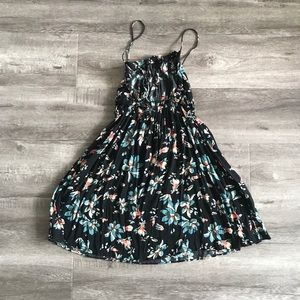 Free People Floral Mini Dress/Cover Up